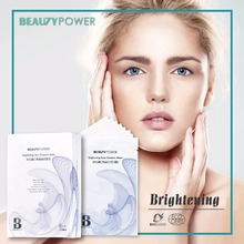 Taiwan Skin Care Beauty Power Amino Acid and EDELWEISS Brightening and Whitening Facial cotton Mask