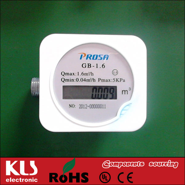 Good quality 1.6 Gas Meter UL CE ROHS 1938 KLS