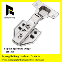 Cold rolled steel Metal Hydraulic Hinge for kitchen cabinet and door
