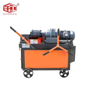 Hydraulic manual rebar thread rolling machine