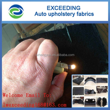 Passenger car interior parts use RS nonwoven velour felt