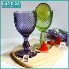 Antique glass cups colored wine glasses wholesale