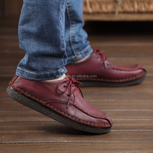 Top quality wholesale price men casual leather shoes