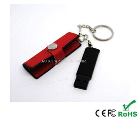 16GB Premium gift promotional LEATHER usb flash drive
