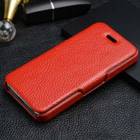 The Most Popular Genuine Leather Flip Case For iPhone5