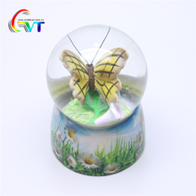 2018 Best selling butterfly water globe for christmas gifts