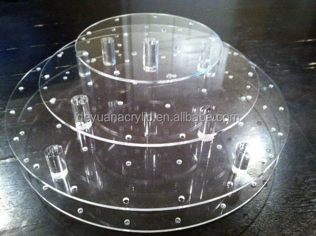 Round 4 Tier 5Tier 6Tier Acrylic Cakecup Stand for Party,wedding
