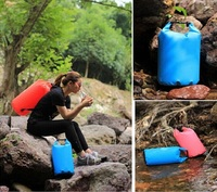 PVC waterproof dry beach bag