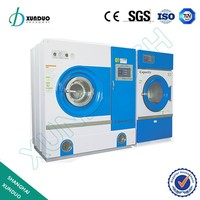 Hydrocarbon solvent dry cleaning and ironing machines