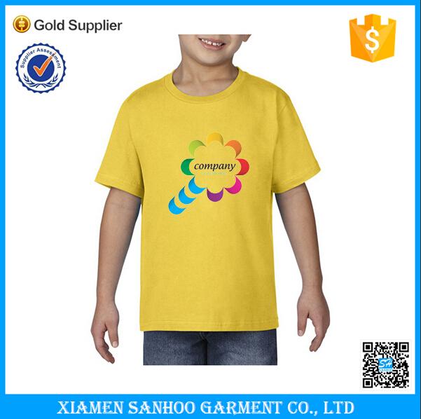 Custom t shirt children high quality made tshirt logo for High quality custom shirts