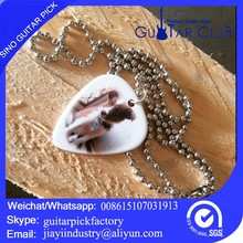 fashion heart custom necklace for 6 string bass guitar