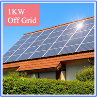 good selling and low cost 1000w home inverter solar power system for home