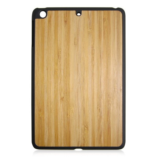 Multiple wood phone covers blank wooden case PC bottom stick wood phone case for iPad mini3