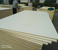 16mm warm white color melamine plywood for South Africa market