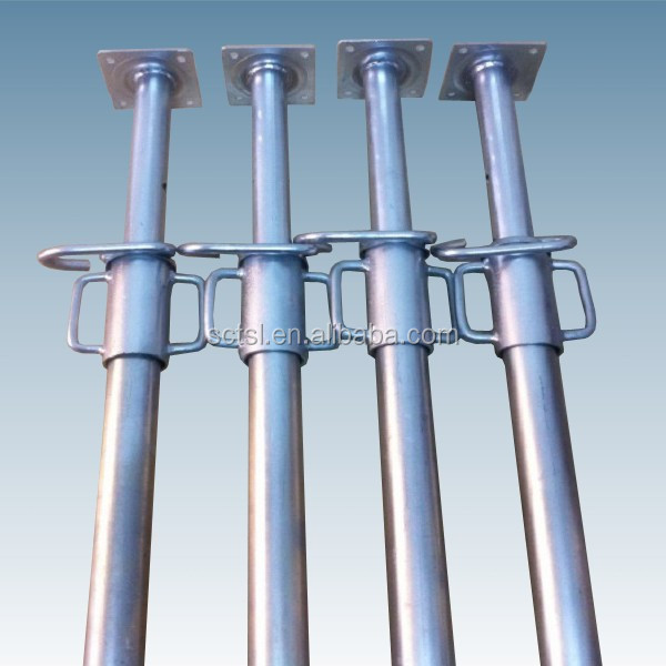 Steel Scaffolding Parts : Adjustable steel prop scaffolding parts hot dip galvanized