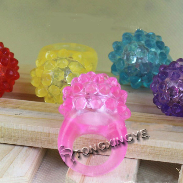 2012 jelly light rings, fantasy christmas jewelry for girls