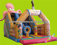 Octopus PVC Inflatable Slide