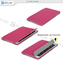 Hot selling pu leather smart flip cover , for ipad sleeve case