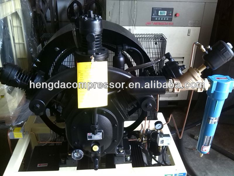 high pressure compressor for pure breathing air mch6-et Booster 175CFM 508PSI 25HP