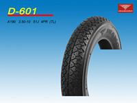 2014 newest anti-skid motorcycle tire 3.50-10 TL