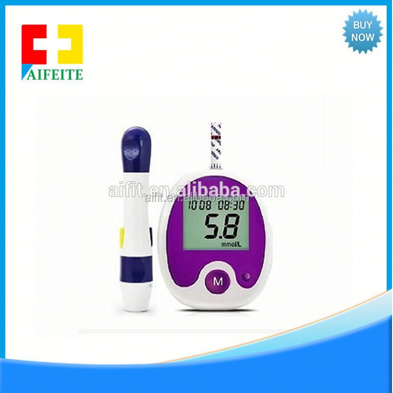 FDA Approved One Touch Price Types of Blood Sugar Testing Devices Smart Mini Easy Select Glucometer Digital Measuring Sensor Kit