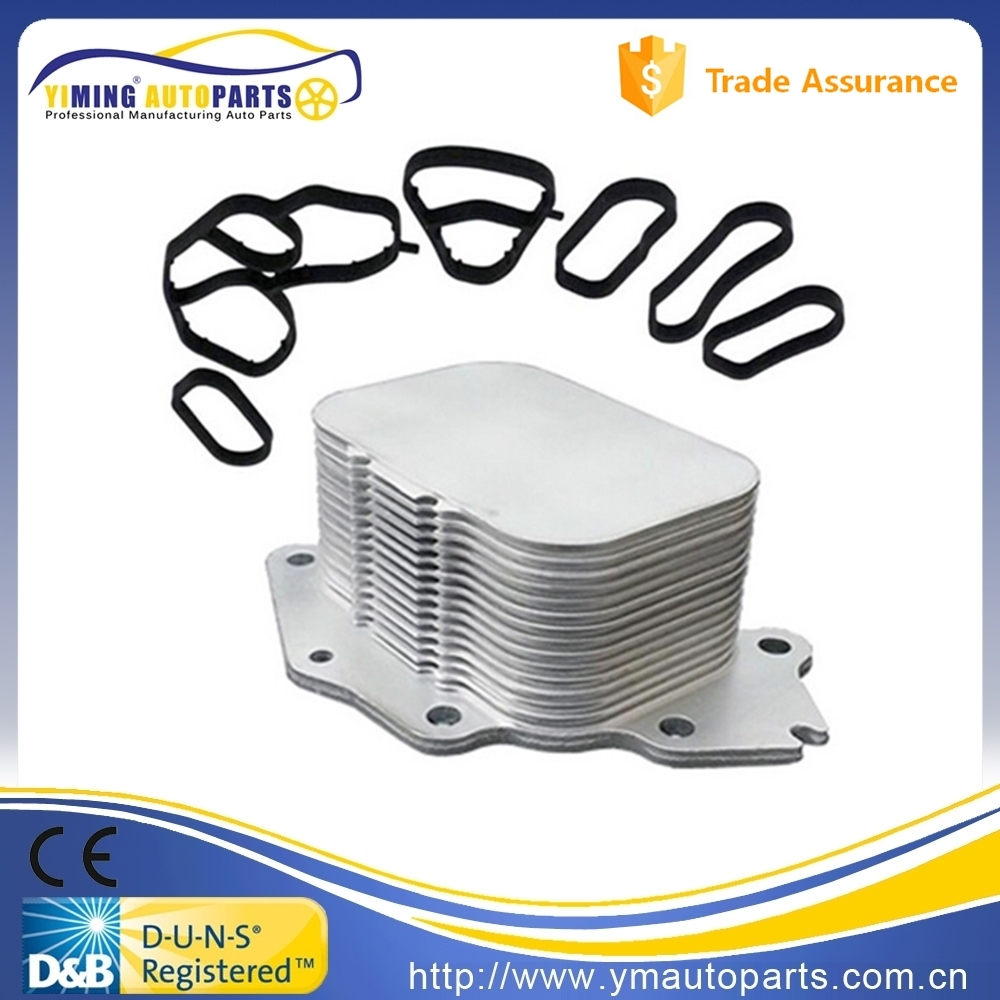 for VOLVO S40 S60 S80 V40 V50 V60 V70 1.6 Diesel Car Accessories Engine Oil Cooler 31321630 Universal Oil Cooler