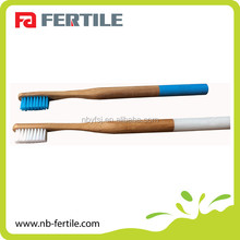 Hot Selling Customized Biodegradable Bamboo/Wood toothbrush For Adulit and Kids