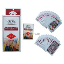matte laminated playing cards in box