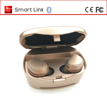 High quality bluetooth tws earpiece mini with microphone name brand bluetooth earphone with charging case