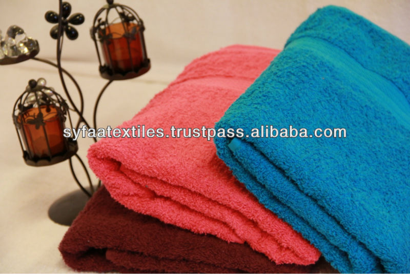 100% Terry Homelinen Wool Cotton Towel