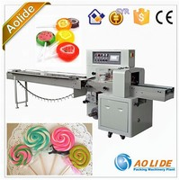 Exquisite packaging lollipop flow wrapping machine ALD-250XB