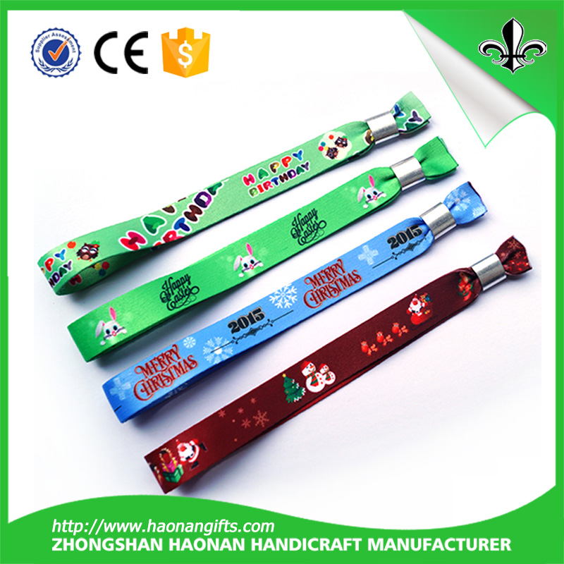 2016 popular excellent quality colorful wristband for promotion items