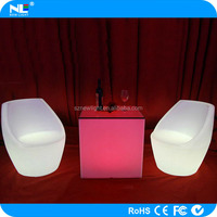 2015 LED bar Sofa / LED Furniture sofa / multi-function furniture chair