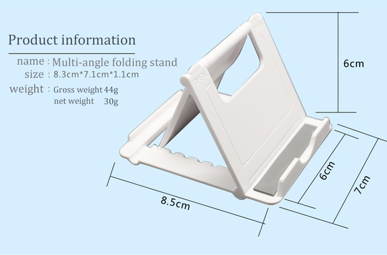 Universal Adjustable  Desk Cell Phone Stand Mount Holder Mobile Stand For Tablet Phones