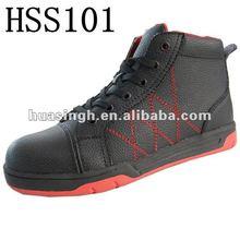 Buffalo Leather Steel Toe Safety Casual Shoes