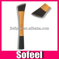 Sofeel flat top foundation brush makeup brush face with cylinder