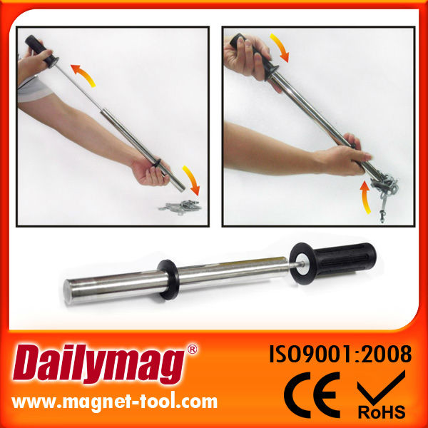 Strong Stainless Magnetic Push-Pull Attractor with Release
