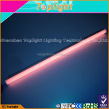 Special supermarket pink T8 led fluorescent tube for meat