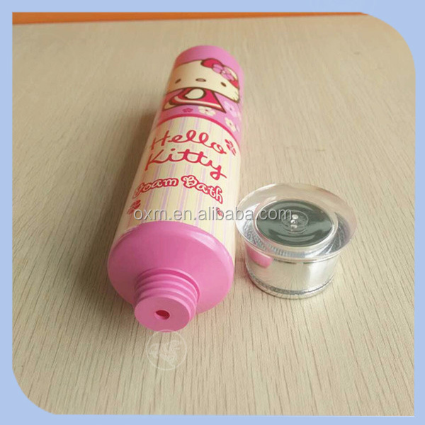dr tube,pink cosmetic containers for whitening cream