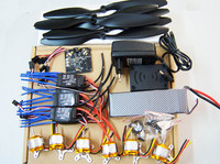 F05114-E RC HexaCopter Parts: KK Multicopter V2.3 Hex-Rotor Flight Controller 30A ESC A2212 Motor Battery Propellers