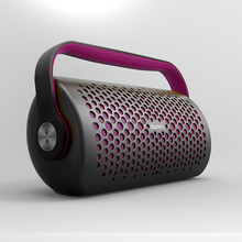 bluetooth speaker with handle, handy, easy to take, support FM radio broadcast , play music throughTF card