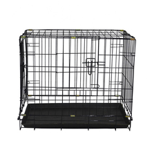 Hot sale hign quality folding metal iron dog crate MHD002-B
