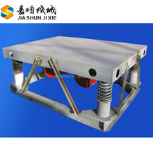 Mini vibration table for concrete moulds