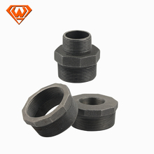 black pipe fittings bend male and female