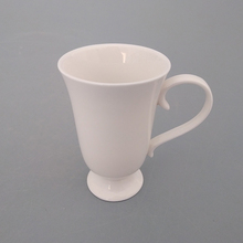Stocklots round white ceramic drinking wine cup with excellent price