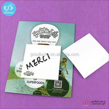 wholesale creative sticky note pad