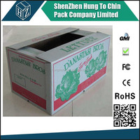 waterproof corrugated carton divided cardboard boxes