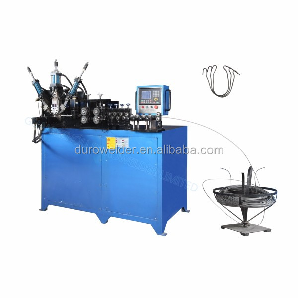 Hydraulic cloth hanger forming machine