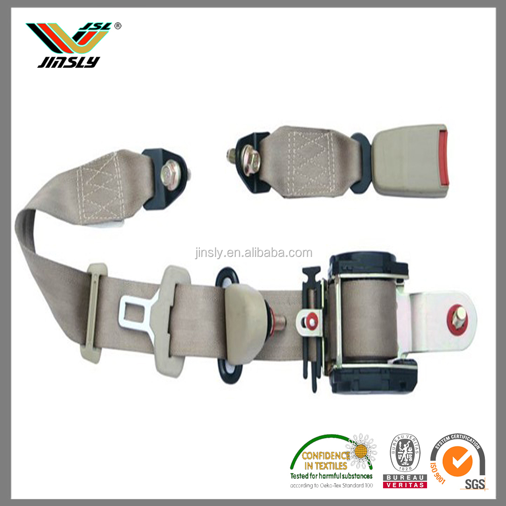 New Arrival 38mm Nylon Saftey Belt Strap Webbing For Bags /Two point three point safety belt for sale