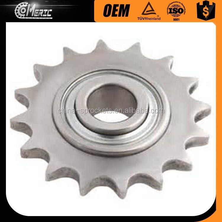 LOW PRICE STEEL IDLER SPROCKET AND CHAIN